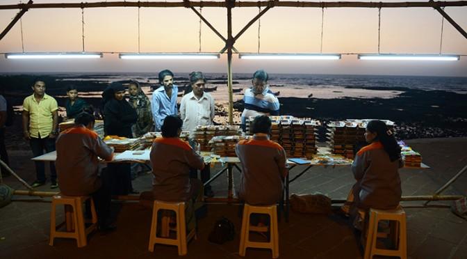 Kay Abude: Production line, Mumbai (2013)