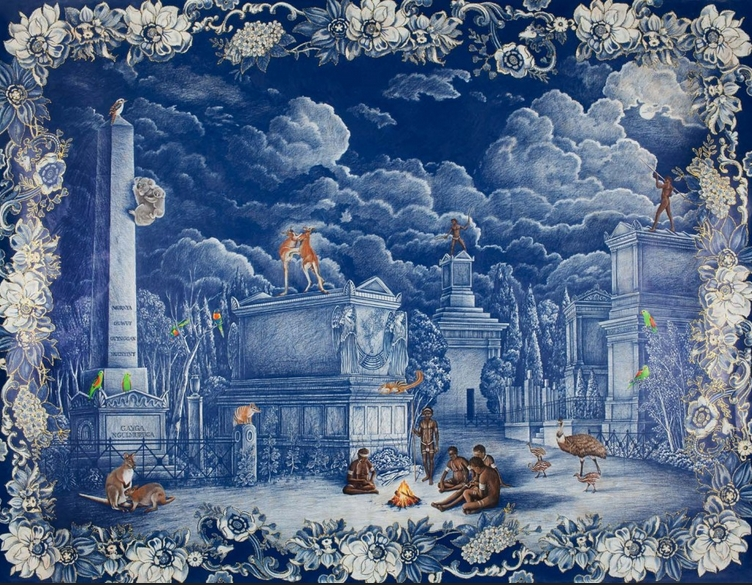 Danie Mellor 'The Elysian City' 2010