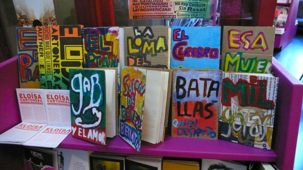 Eliosa Cartonera, Buenos Aires